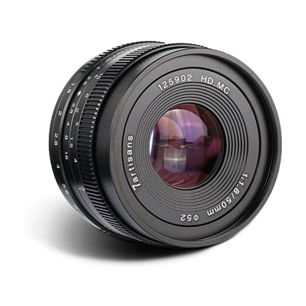 7Artisans 50mm f/1.8 (MFT)
