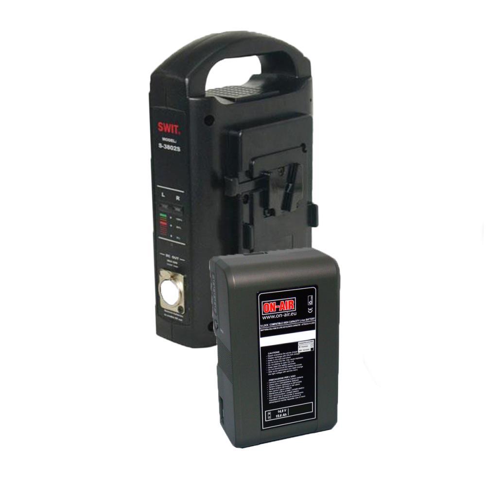 Kit Batteria singola V-lock