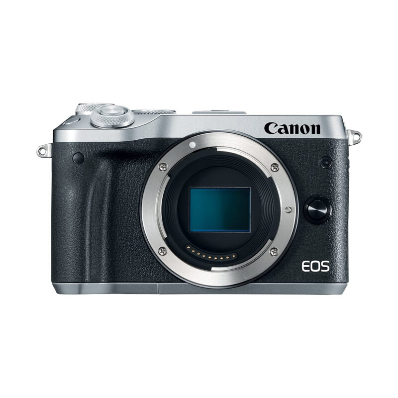Canon EOS M6 – Silver