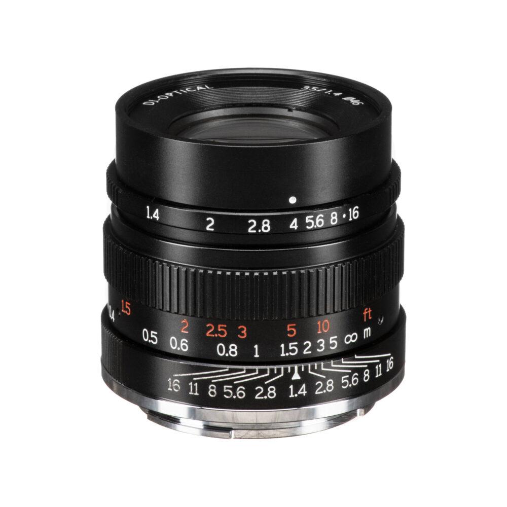 7Artisans 35mm f/1.4 (Sony E) - Black