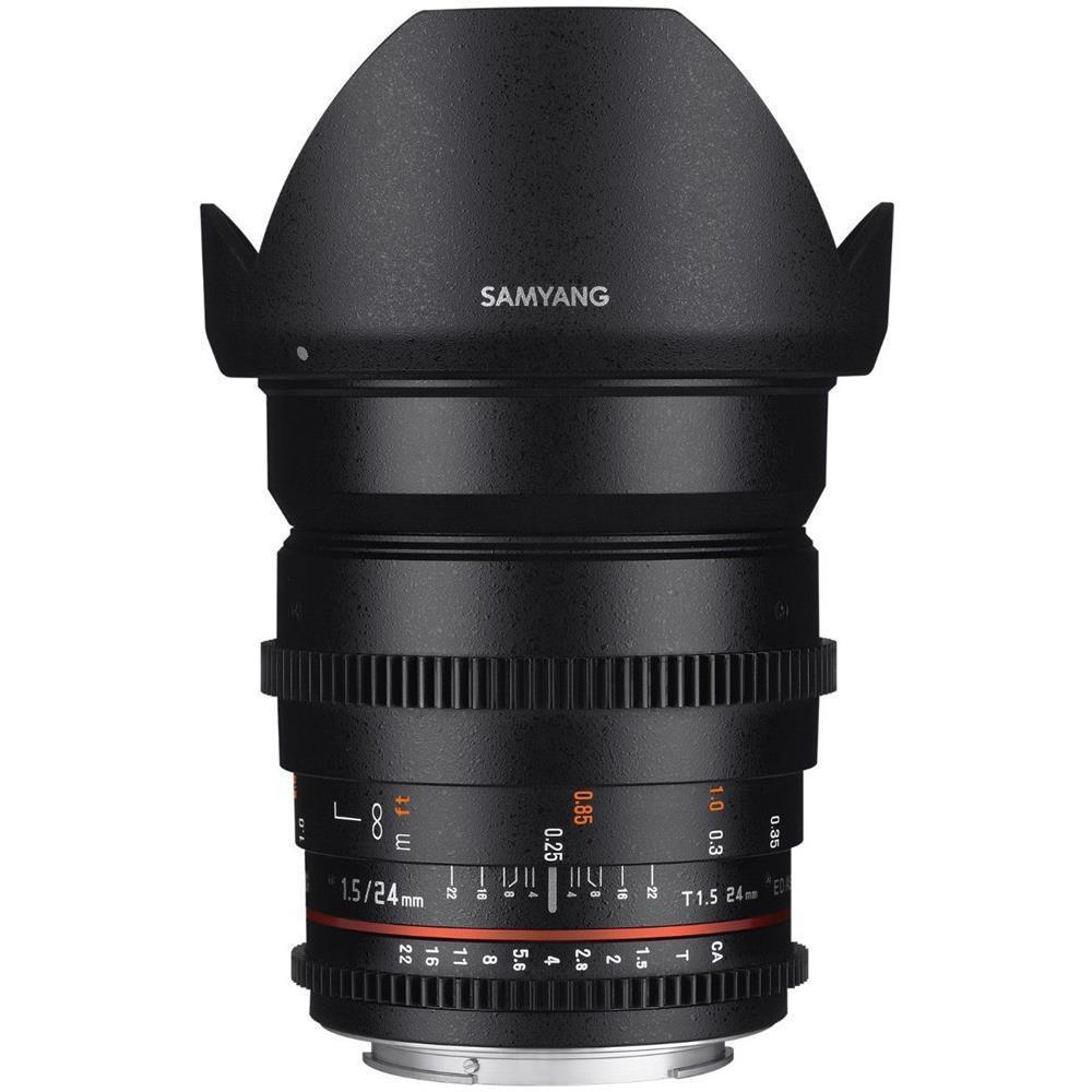 Samyang 24mm T1.5 VDSLR ED AS IF UMC II (Canon EF)