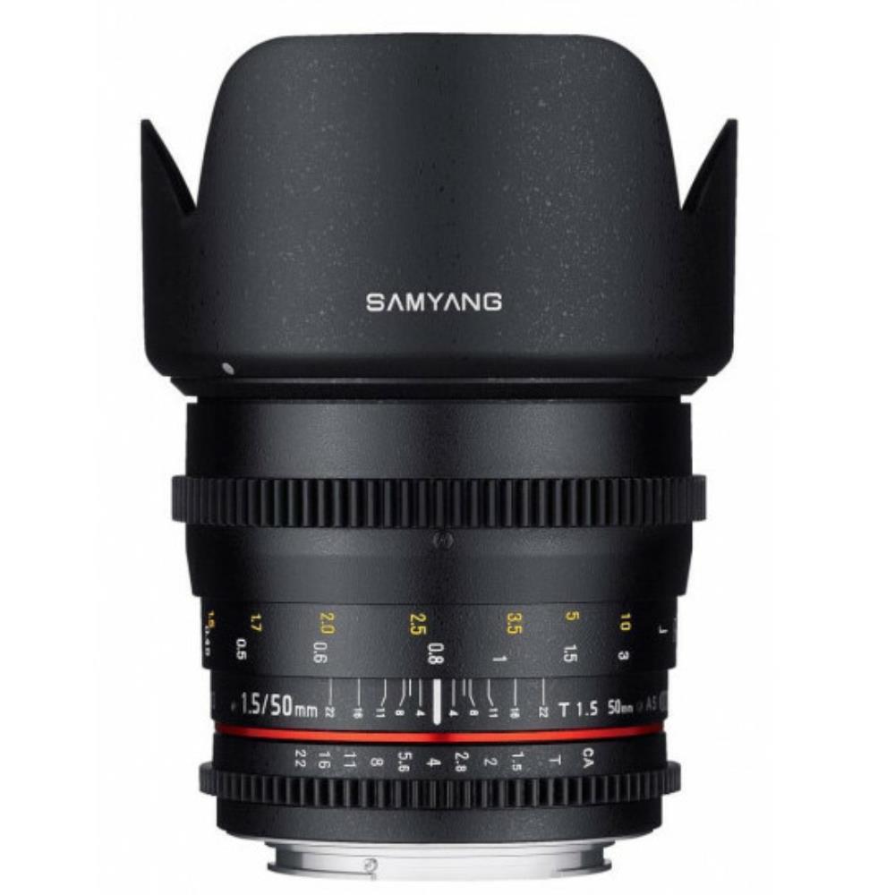 Samyang 50mm T1.5 VDSLR AS UMC (Canon EF)