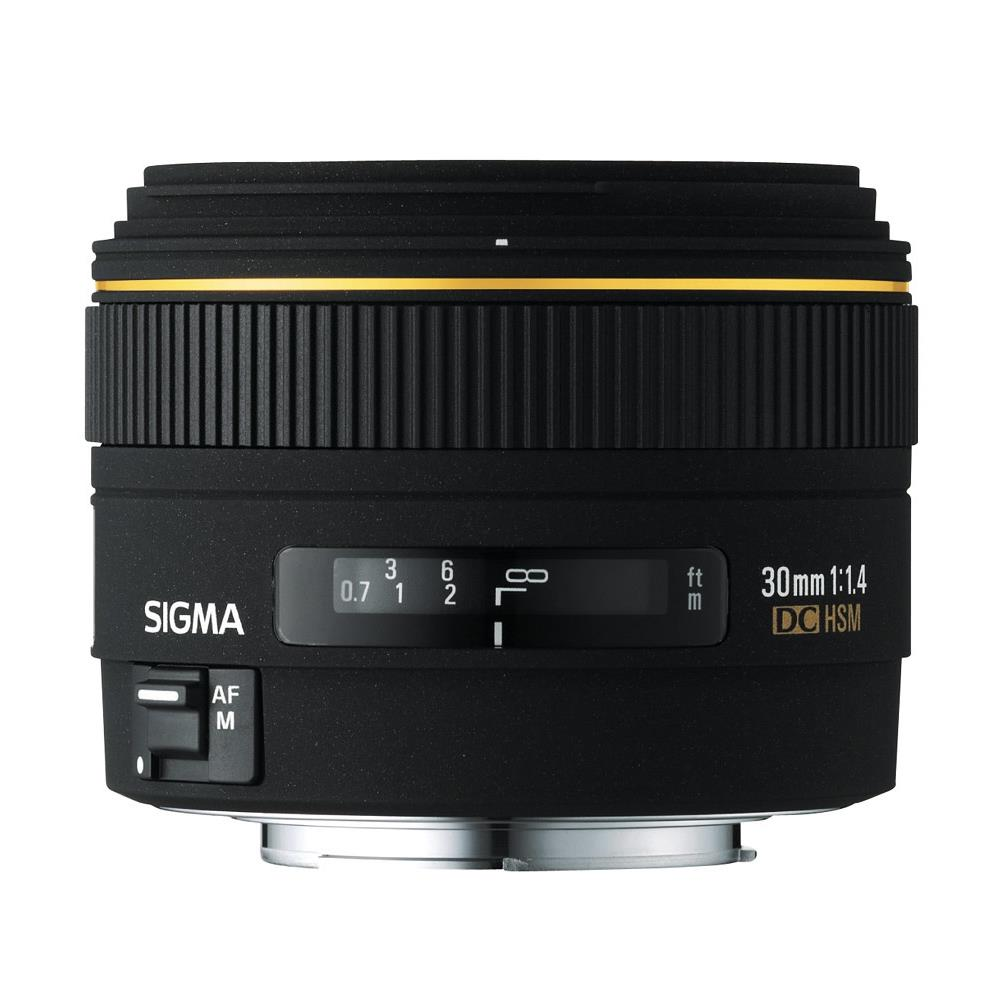 Sigma 30mm f/1.4 EX DC HSM (Nikon F)