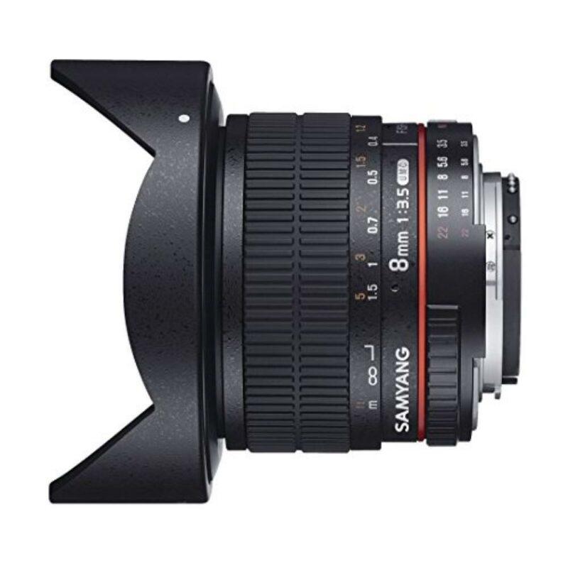 Samyang 8mm f/3.5 UMC Fish-eye CS II (Nikon F)